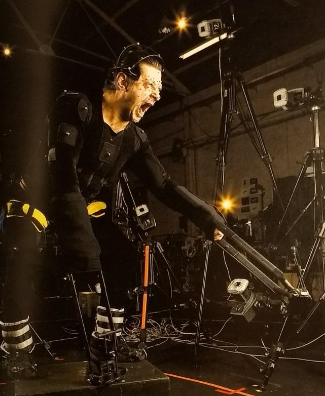 Arm extension prosthetics allowed Serkis to